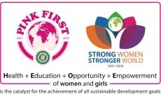 PINK FIRST - Das Motto der internationalen Präsidentin, Ebe Martines Panitteri